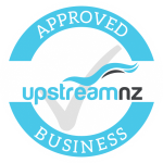 Approved Business label