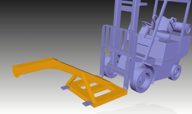 Forklift Frames